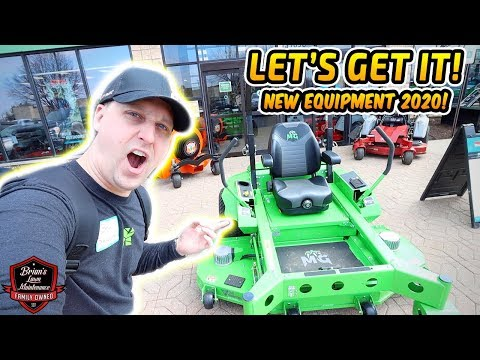 The BIGGEST Dealer Showroom In MICHIGAN? Newest Landscaping Equipment For 2020!