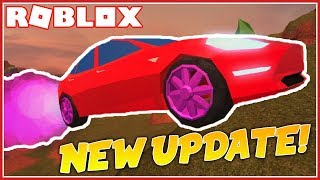 ROBLOX JAILBREAK ROCKET FUEL UPDATE! [FULL REVIEW]