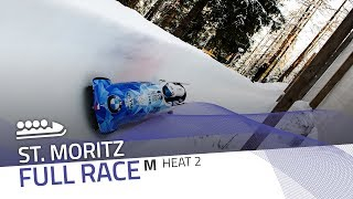 St. Moritz | BMW IBSF World Cup 2019/2020 - 4-Man Bobsleigh Heat 2 | IBSF Official
