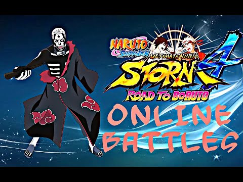 HIDAN GAMEPLAY ONLINE Naruto Shippuden Ultimate Ninja Storm 4 Road To Boruto