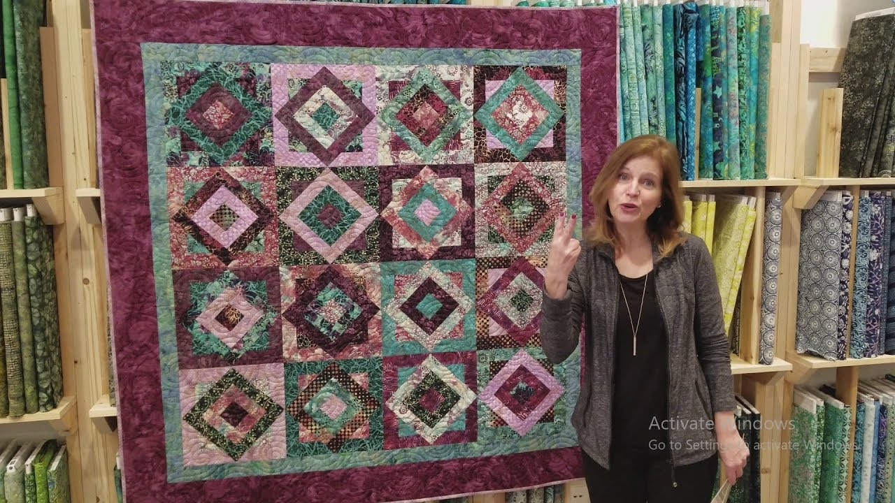 a real breeze to make tropical breeze quilt giveaway youtube