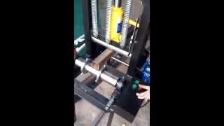 Станок для радиусной гибки профильных труб, ферм и швеллера (гидравлический трубогиб)(, 2013-10-13T13:28:38.000Z)