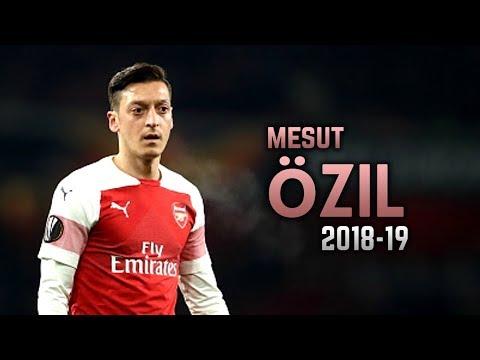 Mesut Özil 2018-19 | Dribbling Skills & Goals
