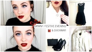 Get Ready With Me: Christmas Party (& Giveaway!) | Becca Rose