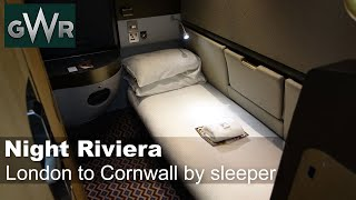 London to Cornwall by Night Riviera sleeper train