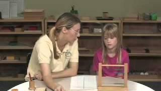 Montessori Short Bead Frame Introduction