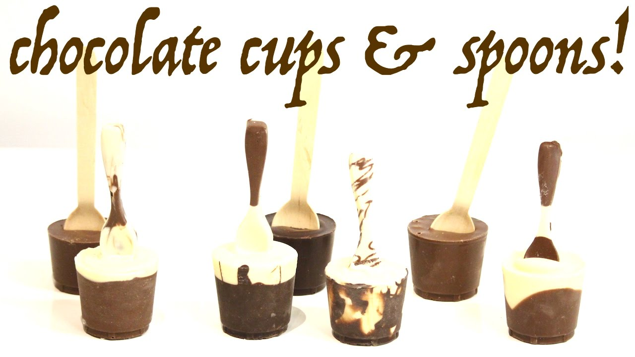 how to make chocolate spoons with cups for the ultimate hot