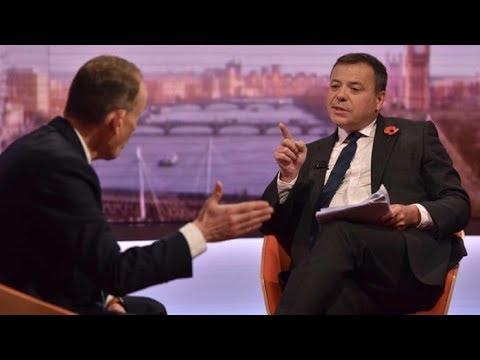 Brexit fallout: Follow the money - Arron Banks can't explain dodgy loans on the Marr Show