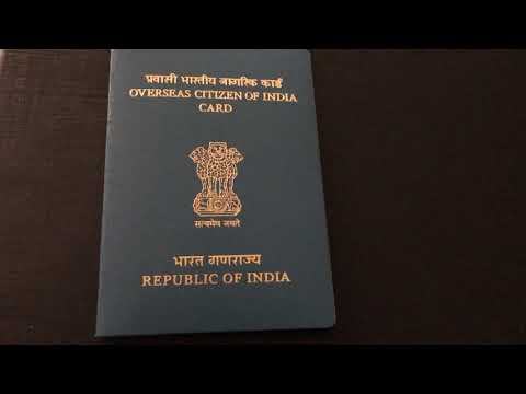 Finally I Got OCI(Overseas Citizenship Of India) Card