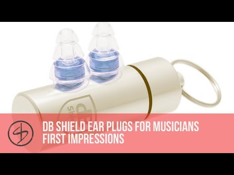 dB Shield Ear Plugs for Musicians First Impressions Review