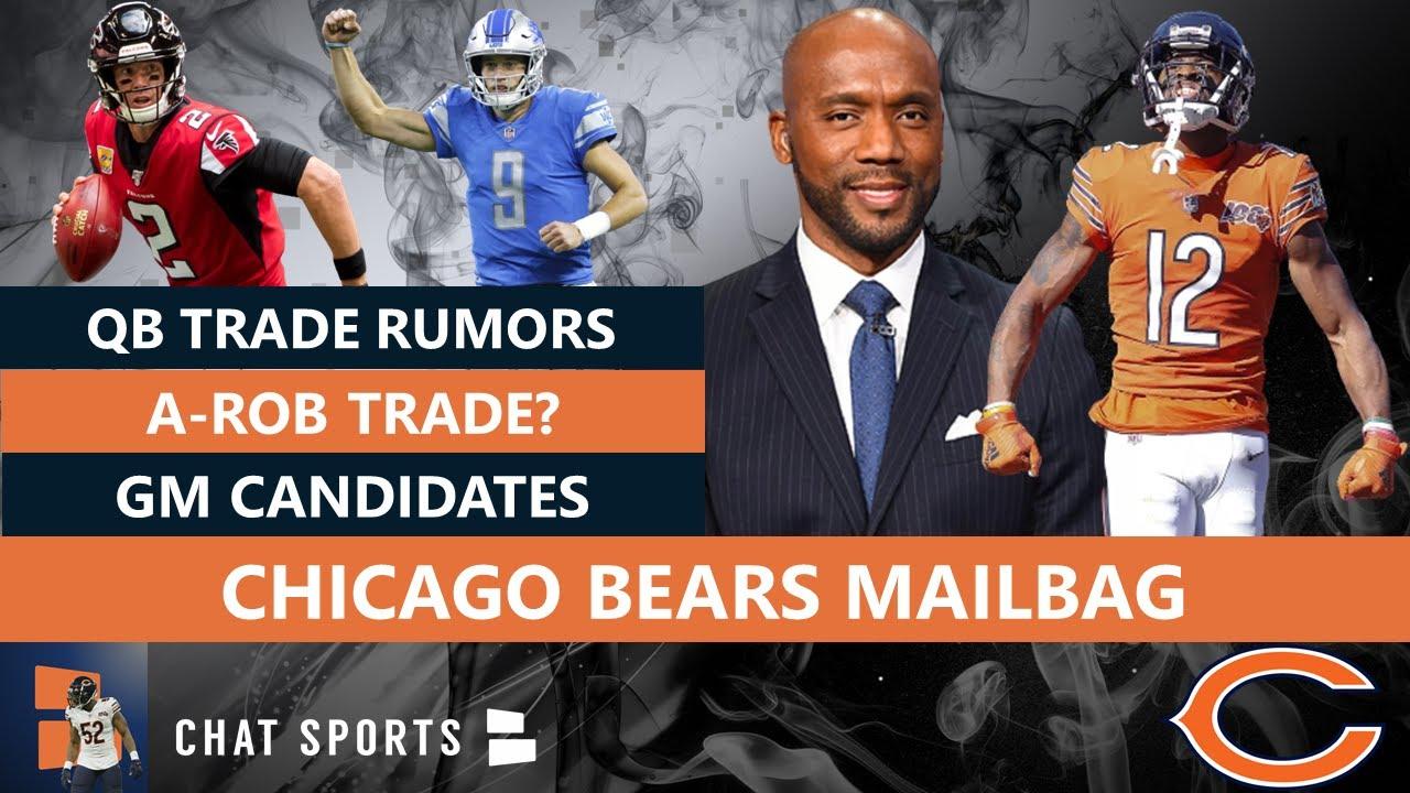 Bears Rumors Allen Robinson Trade Trade For Matt Ryan Or Matthew Stafford Bears Gm Candidates Youtube