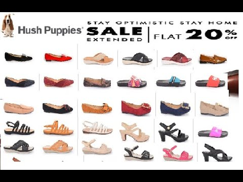 Hush Puppies Shoes Sale Flat 20% Off On Summer Collection 2020