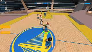 The OP game begins! (Roblox Hoops 76 point game Quarter 1)