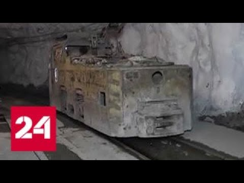"""В Норильске на руднике """"Комсомольский"""" реконструируют надшахтное оборудование - Россия 24"""