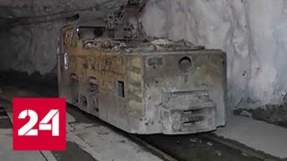 Смотреть видео В Норильске на руднике