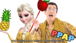 Repeat youtube video ELSA and PPAP ( Pen Pineapple Apple Pen and Elsa PARODY )