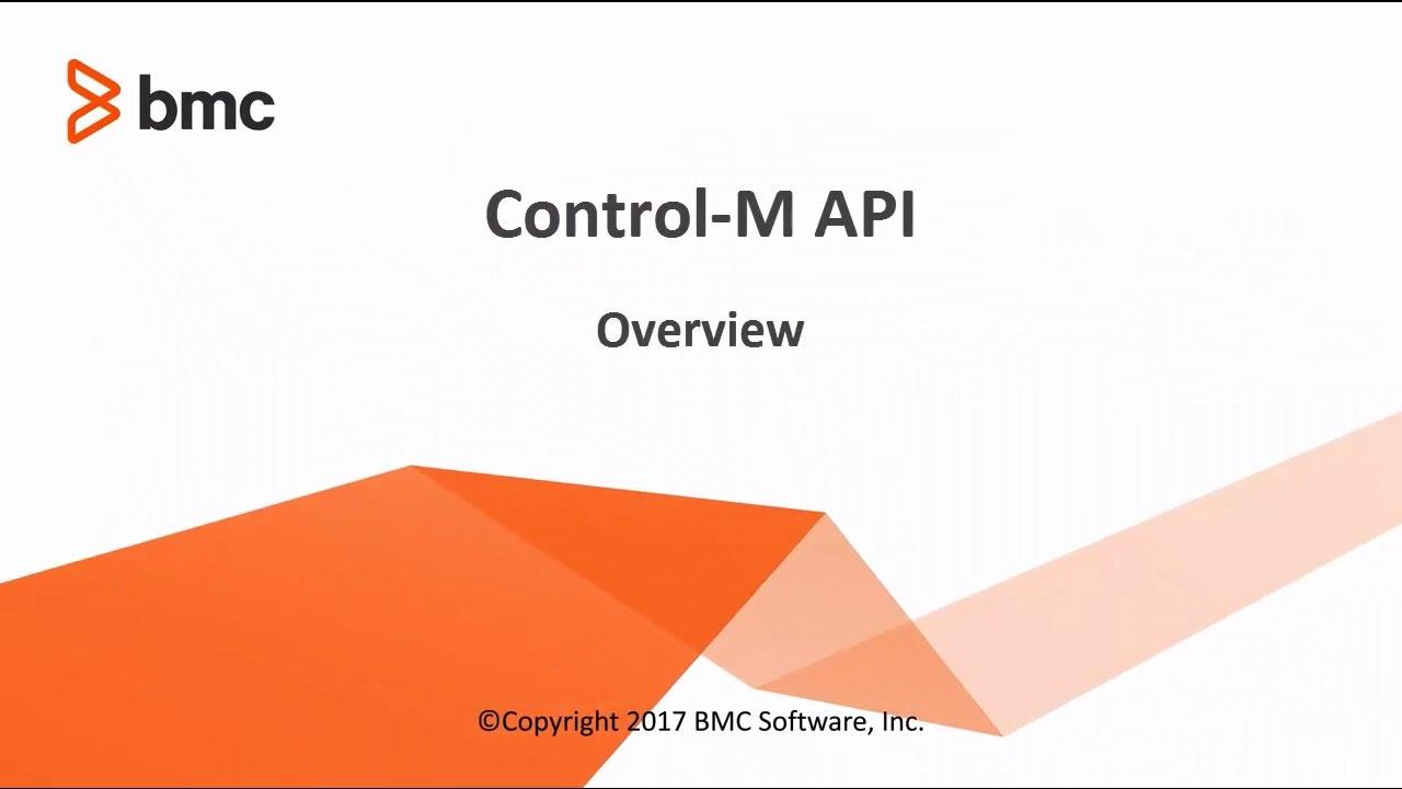 Control-M Automation API Home - Documentation for Control-M