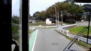 【HD】西鉄バス 福岡[1](志賀島内線) 勝馬~志賀島~大岳~海浜公園西入口【前面展望】