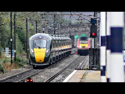 Trains at Grantham, ECML | 11/09/2018