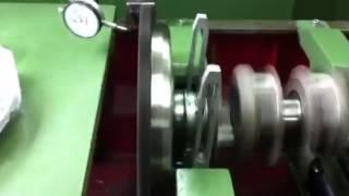 Équilibrage volant moteur COX voile