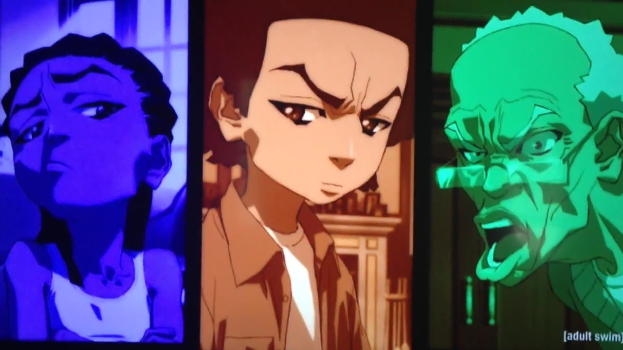 The Boondocks Star Wars IPhone Commercial