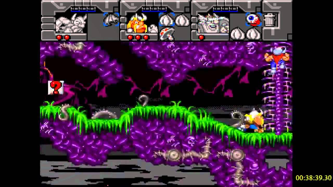 Lost Vikings 2 (SNES) Retro Games NES SNES SEGA GENESIS NDS N64 PS1 PS2 PSX  XBOX - 3 / 4
