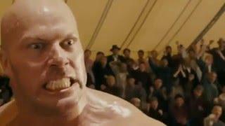 """сцена из фильма """"Бесстрашный"""" Джет Ли против чемпиона MMA"""