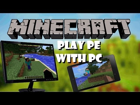 [NEW] How to Play MCPE And MCPC Together!