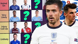 RATING ENGLAND FORWARDS CHANCES OF GOING TO EURO 2020 | #WNTT