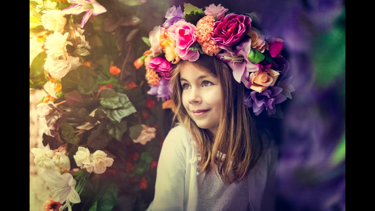 Diy tutorial floral crown or headpiece youtube izmirmasajfo