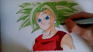 Drawing - Kefla Super Saiyan
