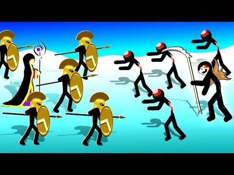 Golden Stickman Speartons