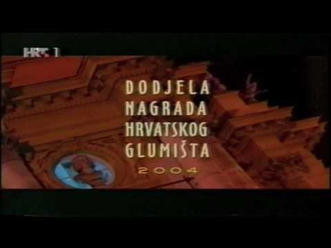 Nagrada Hrv. Glumišta - špica,music By Dinko Appelt