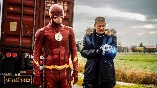 Флэш и Капитан Холод против Мыслителя. Перевозка Ядерного Человека