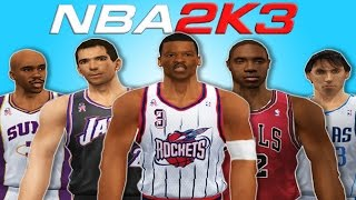 TOP 10 best Point Guards in NBA 2K3 🏀