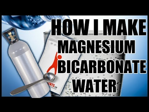 Magnesium Bicarbonate Water (How I Make It)
