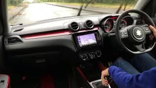新型スイフト・スポーツ 6MT 速攻ロードインプレ!