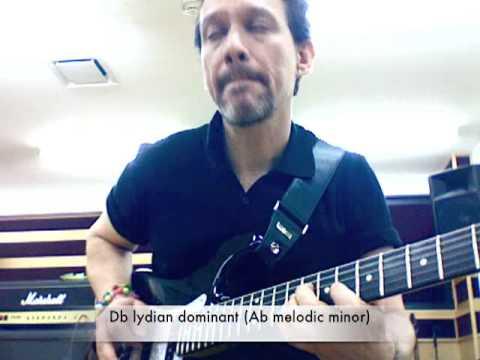 Lydian Dominant Guitar Lesson pt.2