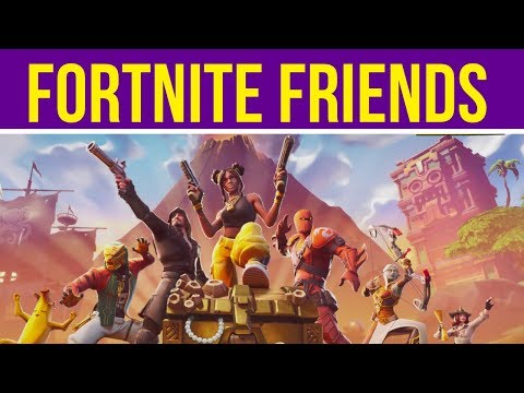 How to play with friends on fortnite battle royale ps4