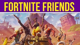 How To Add Epic Friends & Join Game (party) On Fortnite Battle Royale | Xbox One S