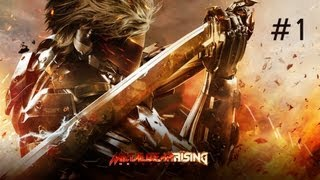 Скачать Metal Gear Rising Revengeance Walkthrough Part 1 HD No Commentary PS3 Xbox360