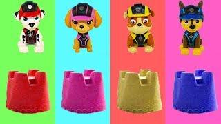Щенячий патруль все серии Учим цвета Сборник Мультики для детей Мультфильмы про Игрушки и Сюрпризы