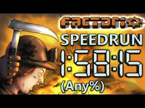 Factorio Speedrun in 1:58:15 by AntiElitz (any%) [0.14 World Record]