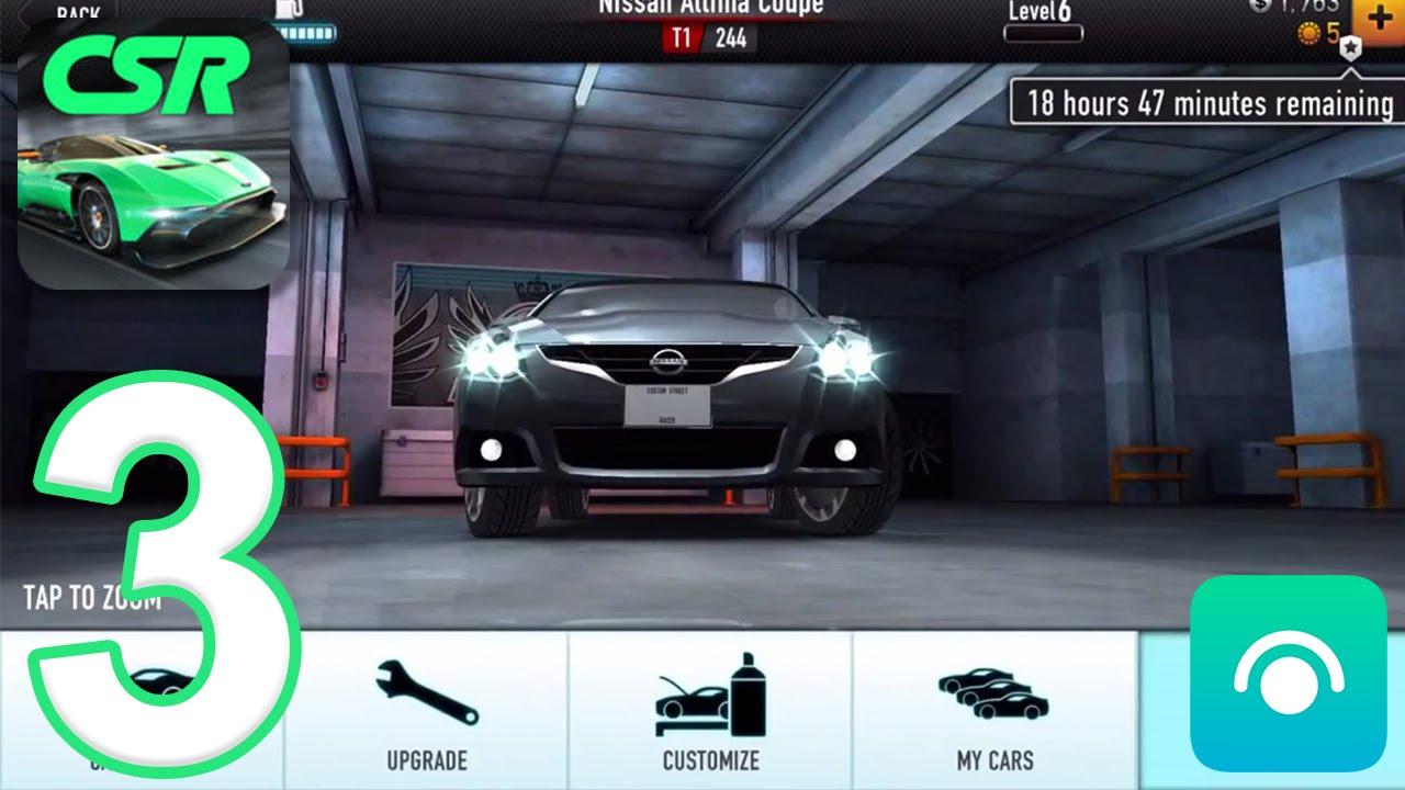 CSR Racing - Gameplay Walkthrough Part 3 - Tier 1 (iOS, Android)
