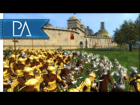 EASTERLING SIEGE DEFENCE - Third Age Total War Gameplay