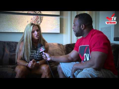 VNM-tv Debi Laszewski Olympia 2012 Interview