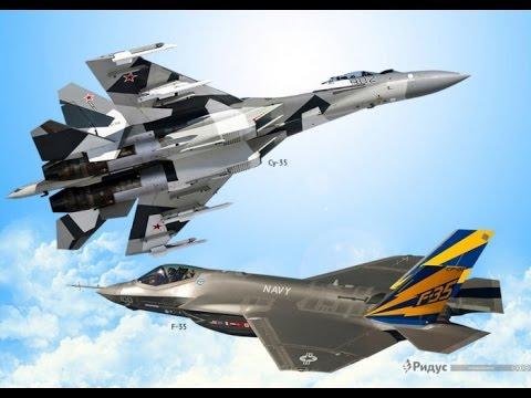 Сравнение истребителей ВВС России и США. Су 35 против Ф 35.