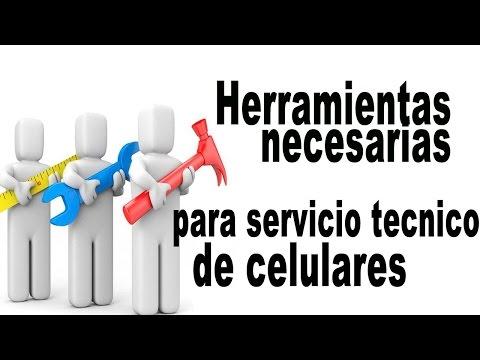 Herramientas Necesarias Para Servicio Técnico De Celulares