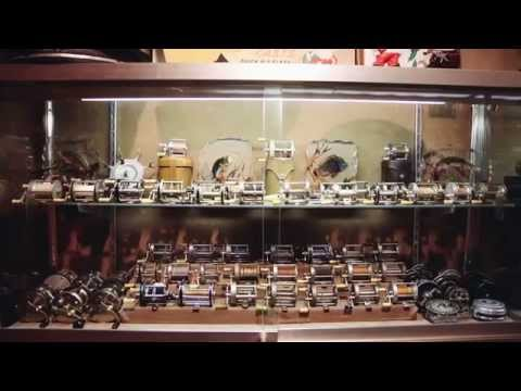 Frank's World Class Antique Shakespeare Fishing Tackle and Lure Collection | CustomMade.com