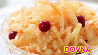 главный секрет  салата из капусты  рецепт  от Dovna Enterprises